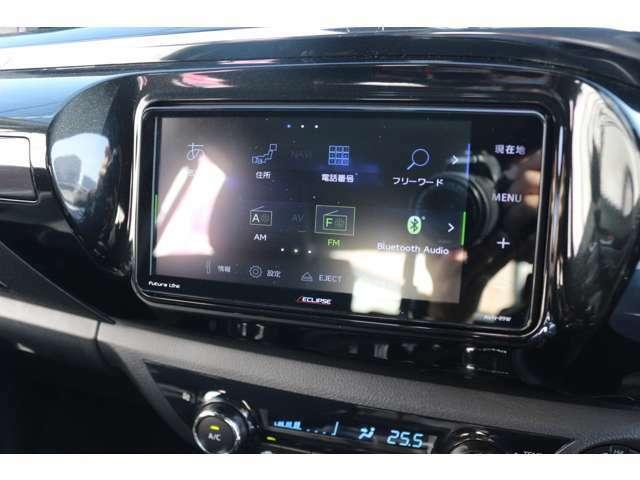 SDナビを搭載しています☆地デジTV、CD・DVD再生・音楽録音・Bluetooth機能付き☆高画質・高音質で快適なドライブがお楽しみ頂けます☆走行中もテレビ映ります☆