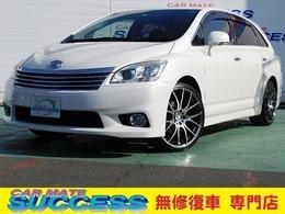 トヨタ マークXジオ 2.4 エアリアル HDDナビ1セグETCHIDオートライト3列DVD