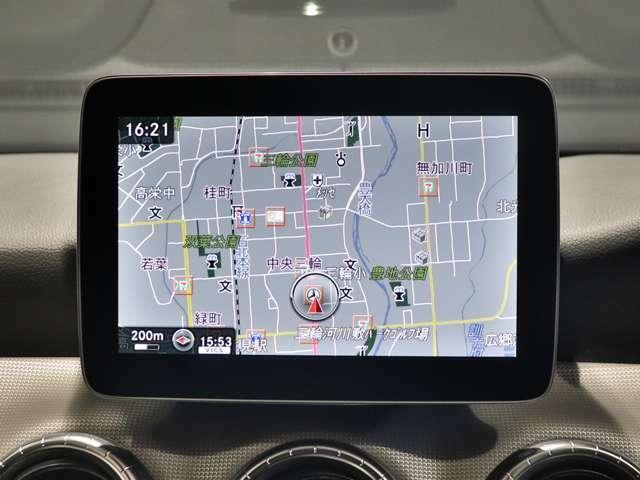 【 8インチのワイドディスプレイ】運転に必要な情報を表示するディスプレイは高精細で、確認しやすいディスプレイです!