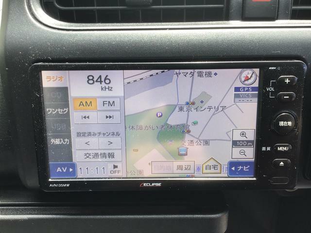 カーナビ付き!!知らない道も安心ドライブ!!ドライブレコーダーもつけると万が一の時もたよりになります。