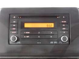 純正CDラジオ付きです☆