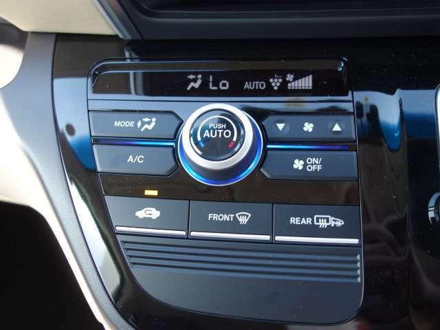 エアコンパネルの画像です。室内空調が快適に保てるオートエアコン付です!