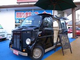 マツダ スクラム 660 PA ハイルーフ フレンチバス仕様 キッチンカー移動販売車