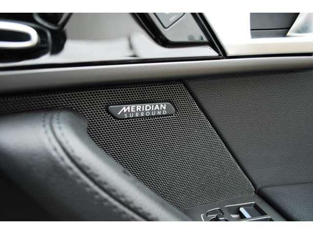 英国ブランドの【MERIDIAN】製サラウンドサウンドシステム。臨場感あふれる ライブパフォーマンスを生み出すシステム。