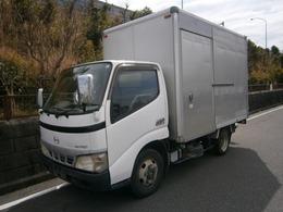 日野自動車 デュトロ アルミバン ETC 積載2000kg バックカメラ