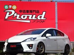 トヨタ プリウス 1.8 S ツーリングセレクション G's /車高調/社外テール/ワイドナビ/フルセグTV