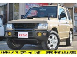 三菱 パジェロミニ 660 V 4WD サンドベージュ全塗装 ナビ ETC アルミ