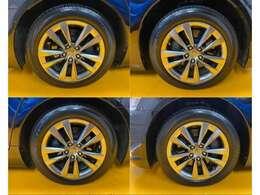 タイヤの溝は、8分程ありますのでまだまだ交換不要です。