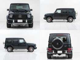 外装色は他と差の付くマグノナイトブラック(539,000円)。それでも物足りない貴方には、フロントメッキやスペアタイヤカバーもマットブラック化などのカスタムも承っております。