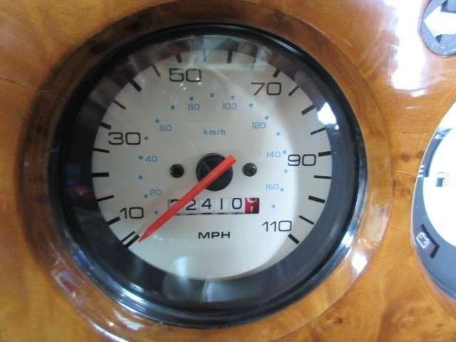 スピードメーター、走行距離はマイル表示になります!