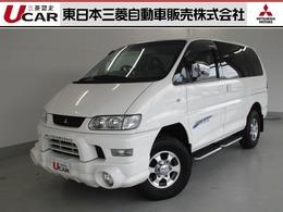 三菱 デリカスペースギア 3.0 シャモニー エアロルーフ 4WD HDDナビ フォグランプ 車検整備付