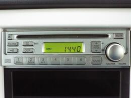 純正オプションCDステレオ付き! 最新のカーナビやオーディオの取付けも承ります!
