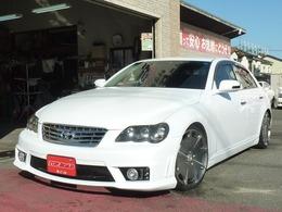 トヨタ マークX 2.5 250G HDDナビLDJデザインフルエアロ車高調19AW