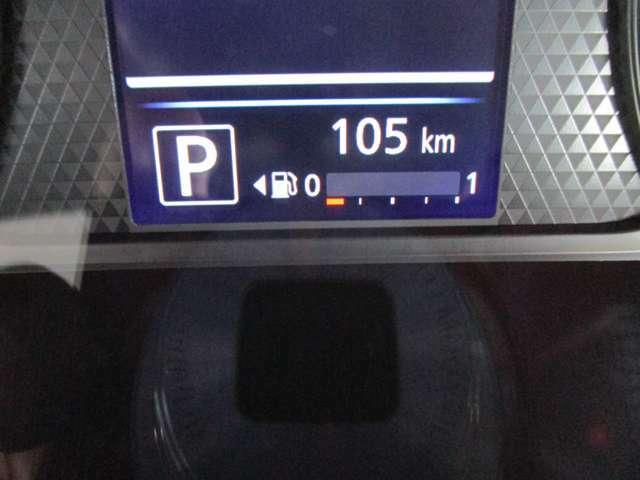 燃料計がデジタルで表示されるため見やすく安心です♪