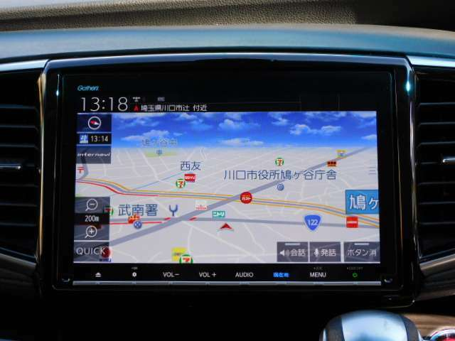純正ギャザス9インチプレミアムインターナビTV+リンクアップフリー(VXM-197VFNi)