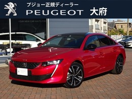 プジョー 508 GT ブルーHDi ディーゼルターボ 元試乗車 新車保障継承 純正ナビ ETC2.0