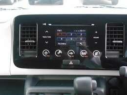 CD・ラジオ付です!当たり前の装備ですが、無くちゃ困ります。いい音かけて、快適空間をお楽しみ下さい!
