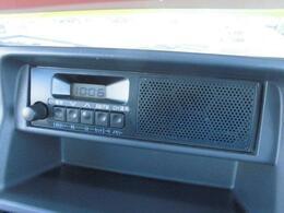 AM/FMラジオ装備してます♪