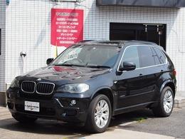 BMW X5 xドライブ 30i Mスポーツパッケージ 4WD タイヤ新品交換 サンルーフ 黒レザー