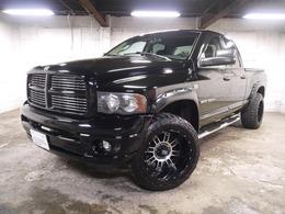 ダッジ ラムトラック 1500クワッドキャブ ララミー 4WD 社外20インチAW アルパインBIGX