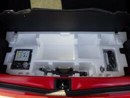 いざという時にも!!タイヤパンク修理キットを標準装備!