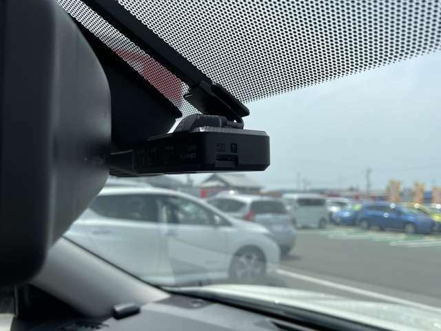 万が一の事故の時に証拠として使えるドライブレコーダー!