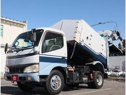 日野自動車 デュトロ 富士車輌製回転式塵芥車 回転パッカー車・4.3立米