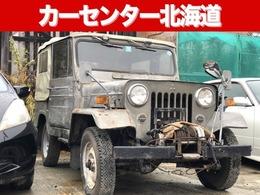 三菱 ジープ 4WD 1年保証 ディーゼル MT