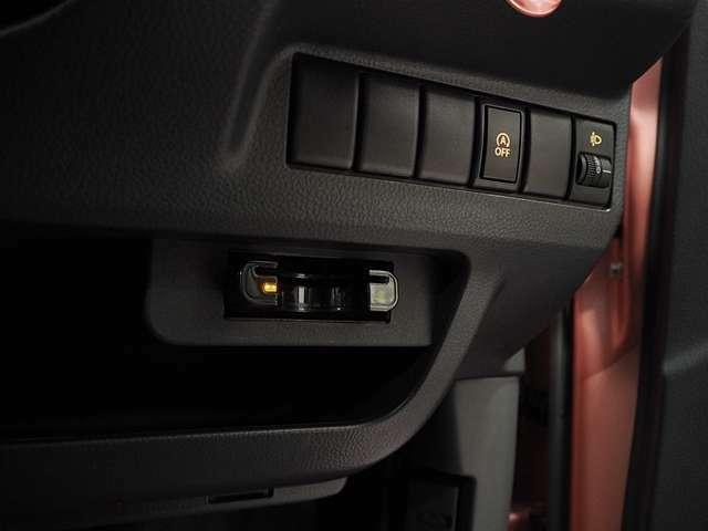 ETC車載器装備。