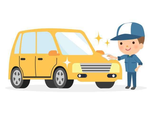 Bプラン画像:ご購入されるのお車をピカピカに!!コーティングすることで水垢汚れ、傷が付きにくく素晴らしい水弾きなボディを維持することができます!!決詳しくはスタッフまで!