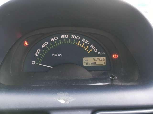 走行距離は40456kmです。まだまだ乗れます!! ※走行距離は撮影時のものです。