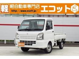 スズキ キャリイ 660 KCエアコン・パワステ 3方開 4WD 修復歴なし FM/AMラジオ パートタイム4WD