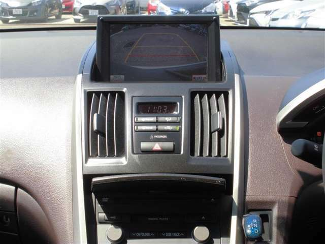 【HDDナビ】!初めての道も安心なのでお出かけする幅が広がります☆DVDナビとは違い、CD音楽を記憶してくれるので好きな音楽をたくさん取り込んで楽しいドライブを♪もちろん映画も見られます。