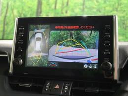 【パノラミックビューモニター】上から見下ろしたような視点で車の周囲を確認することができます☆縦列駐車や幅寄せ等でも大活躍です!!