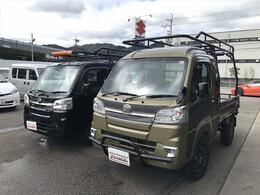 ダイハツ ハイゼットトラック 660 ジャンボ 3方開 4WD カーゴジャパンデモカーSAMURAI2インチUP