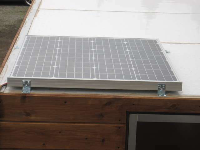 ソーラーで発電(オプション)