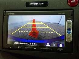 バックカメラ搭載で駐車時も安心です!VXM-145C