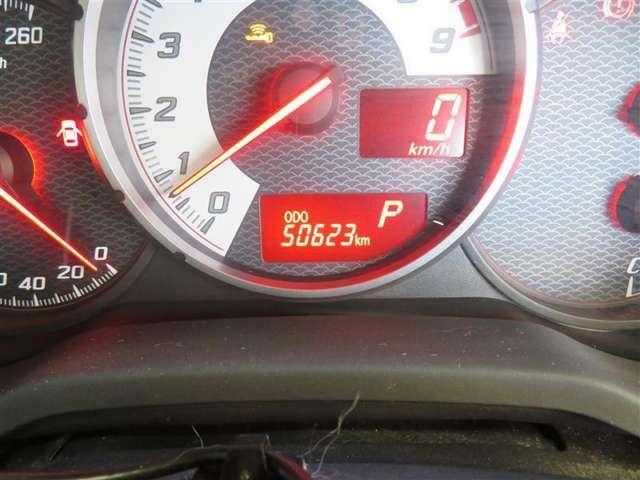 走行距離は約51000キロとなります。