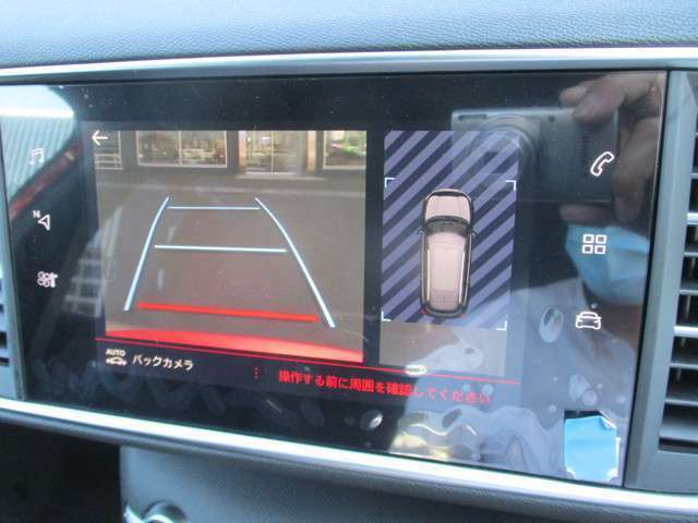 バックカメラ装備で後方確認に役立ちます。駐車の際に安心です。