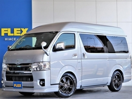 トヨタ ハイエースバン 2.0 DX ロング ハイルーフ GLパッケージ FLEX NH-タイプ2 キャンピング