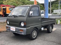 三菱 ミニキャブトラック 660 TD 三方開 4WD 4MT アルミ