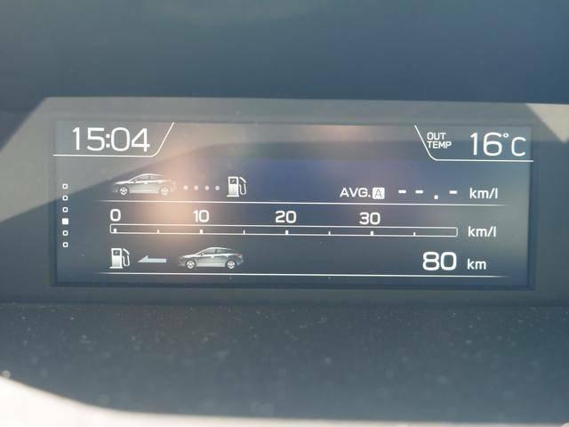 マルチファンクションディスプレイです。車両情報や燃費情報等を表示できます。