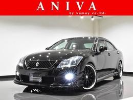 トヨタ クラウンアスリート 2.5 アニバーサリーエディション HDD 新品車高調 新品20AW 新品フルエアロ