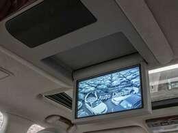 人気装備のリアエンターシステムを装着!ワイド画面のフリップダウンモニター搭載!!さらにマークレビンソンプレミアムオーディオ、DVD機能もセットオプションにて完備しております。
