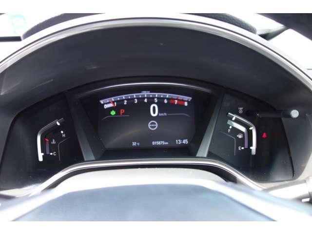 透視性の高いスピードメーター!運転席からの視界も良好です!!