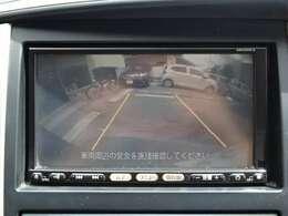 バック駐車も安心のバックカメラ付きです!