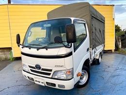 トヨタ ダイナ 2.0 シングルジャストロー 幌付 左サイドカーテン P/S P/W A/C