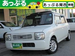スズキ アルトラパン 660 キャンバストップ 社外ポータブルナビ 純正CD/MDデッキ