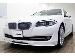 正規ディーラー車 2013年モデル BMW ALPINA D5 右ハンドル アルピンホワイトIII/アイボリーレザー