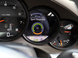 モードスイッチ中央のボタンを押すと、MAXのスロットルレスポンスが約20秒間継続されます。